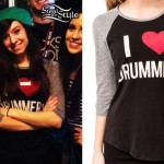 Christina Grimmie: I Heart Drummers Raglan
