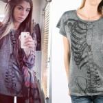 Christina Perri: Sparkly Skeleton T-Shirt