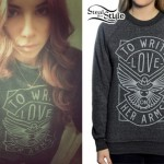 Christina Perri: TWLOHA Sweater