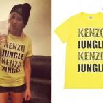 Ellie Goulding: Kenzo Jungle T-Shirt