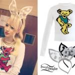 Iggy Azalea: Bear Sweater, Rabbit Ears