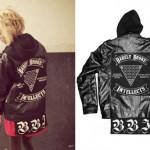 Lil Debbie: Hooded Leather Jacket