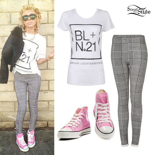Lil Debbie: Houndstooth Pants Outfit