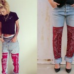 Lil Debbie: Vintage Bandana Jeans