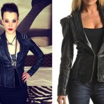 Lzzy Hale: Studded Leather Jacket