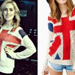 Mindy White: Union Jack Sweater