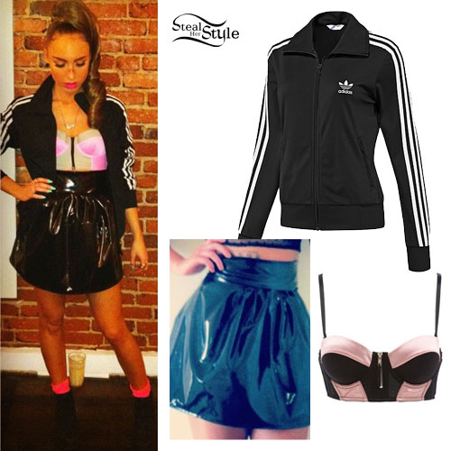 My Name Is Kay: Adidas Jacket Outfit