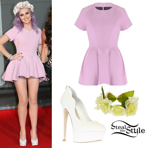 Perrie Edwards: Brit Awards Outfit