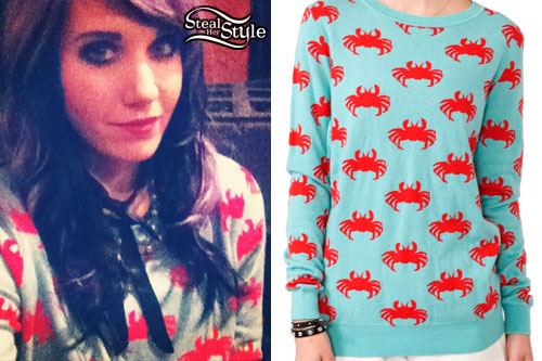 Sammi Doll: Crab Print Sweater