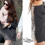 Selena Gomez: Slit Back Sweatshirt