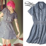 Sherri DuPree-Bemis: Dotted Denim Shirt-Dress
