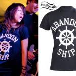 Tay Jardine: Abandon Ship T-Shirt