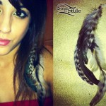 Anissa Rodriguez: Hair Feathers