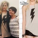 Carah Faye Charnow: Lightning Bolt Tee