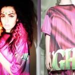 Charli XCX: Pink Graphic T-Shirt