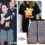 Chloe Chiadez: Checkerboard Print Skirt
