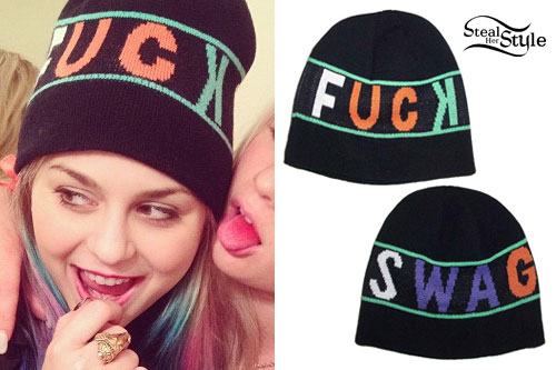 Colette Carr: Fuck Swag Beanie