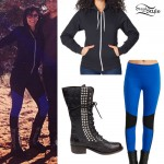 Colleen D'Agostino: Studded Combat Boots Outfit