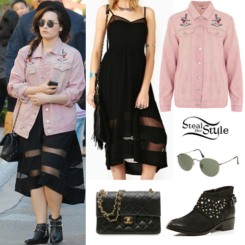 84 demi lovato fashion clothes amp outfits steal her