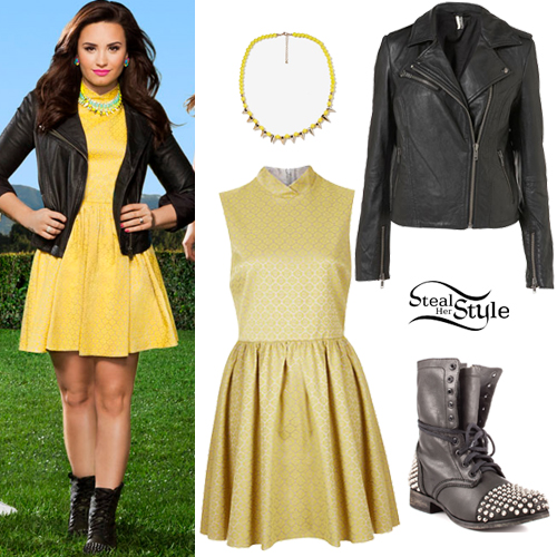 demi lovato style clothes - photo #40