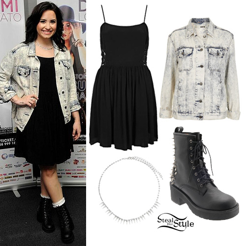 demi lovato style clothes - photo #9