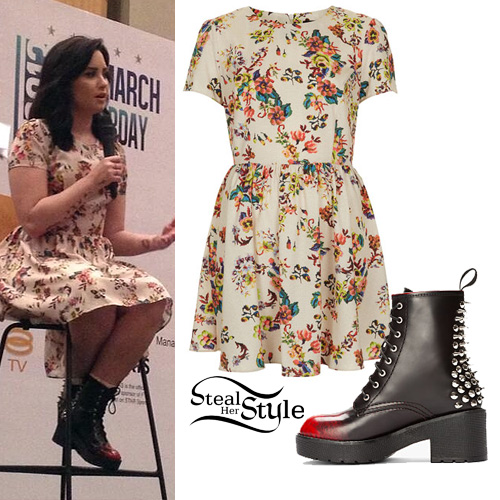 demi lovato style clothes - photo #18