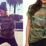 Ellie Goulding: Camouflage T-Shirt