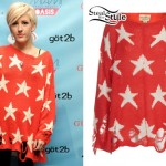 Ellie Goulding: Red Star Sweater