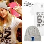 Ellie Goulding: E Beanie, Suicide Blonde Tee