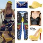 """Iggy Azalea: """"Work"""" Video Streetwear Outfit"""