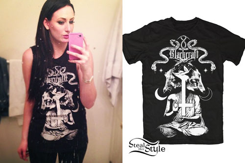 Jacqui Sandell: Diabolical Goat T-Shirt
