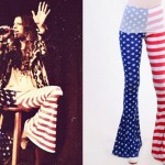 Juliet Simms: American Flag Bell Bottoms