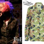 Kieran Strange: Studded Camouflage Jacket