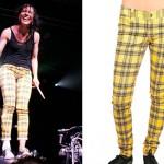 Kim Schifino: Yellow Plaid Pants