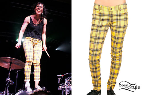 Kim Schifino: Yellow Plaid Pants