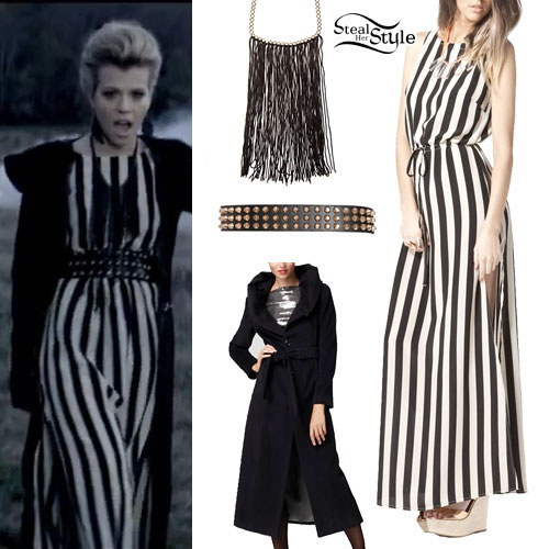 Kimberly Perry: 'Better Dig Two' Striped Dress