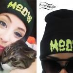 Kreayshawn: Meow Drip Beanie