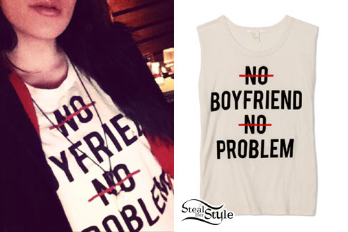 Lexus Amanda: No Boyfriend No Problem Tee