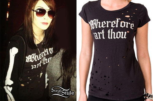 Lexus Amanda: Wherefore Art Thou Tee