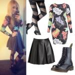 Liz Mace: Comic Book Print Outfit