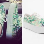 Mariel Loveland: Floral Platform Sneakers