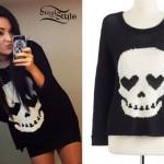 Megan Mace: Skull Sweater