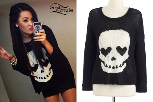 Megan Mace: Skull Sweater