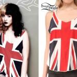 Melanie Martinez: British Flag Tank Top
