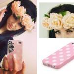 Melissa Marie Green: Peach Flower Crown
