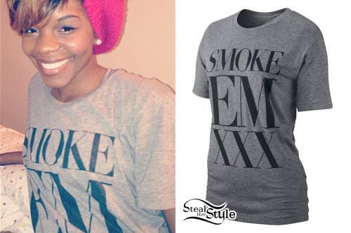 Rye Rye: Smoke Em XXX T-Shirt