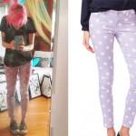 Sherri DuPree-Bemis: Purple Polka Dot Pants