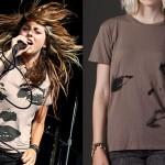Sierra Kusterbeck: Tan Face T-Shirt