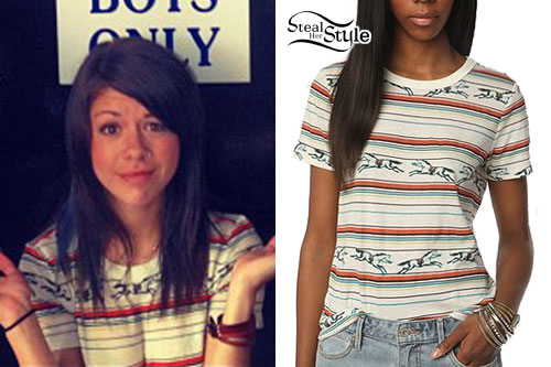 Tay Jardine: Striped Racehorse T-Shirt