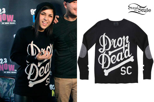 Yasmine Yousaf: Drop Dead Sweater
